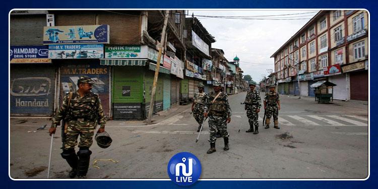كشمير: إصابة العشرات في انفجار قنبلة