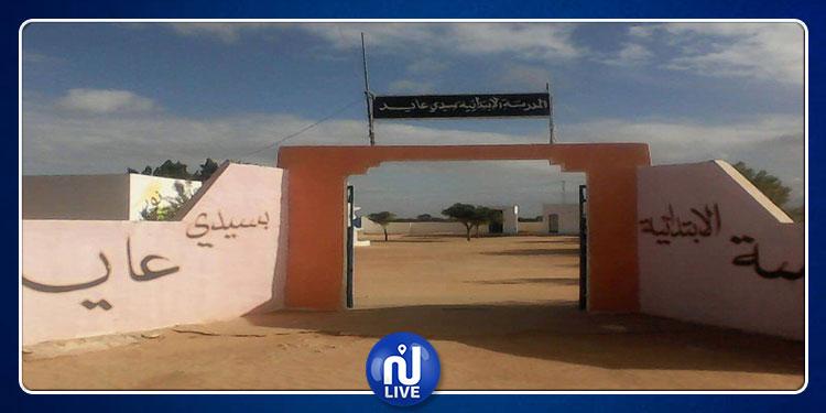 الرقاب: توقف الدروس لليوم الثامن بالمدرسة الإبتدائية سيدي عايد