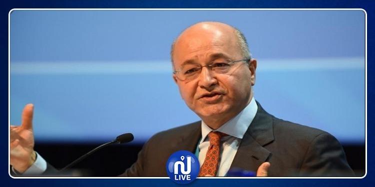 الرئيس العراقي: لا ينبغي لأي بلد التفكير في أنه بمأمن من الإرهاب