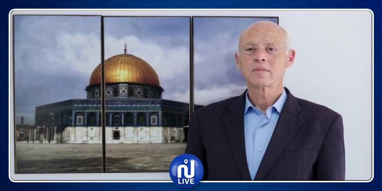 هيئة مسيرات العودة الفلسطينية تدعو قيس سعيّد لزيارة غزة