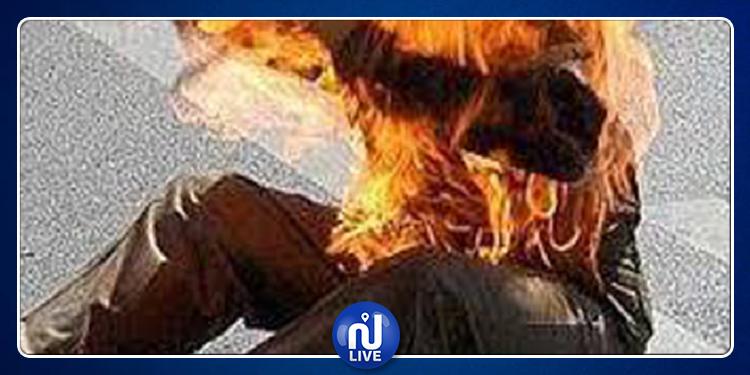القصرين: كهل يضرم النار في جسده بسبب المشاكل العائلية