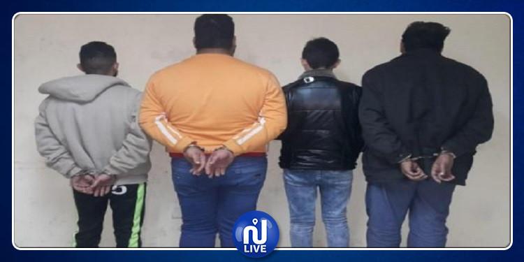 قابس: إلقاء القبض على 4 أنفار مفتش عنهم متورطين في جرائم حق عام