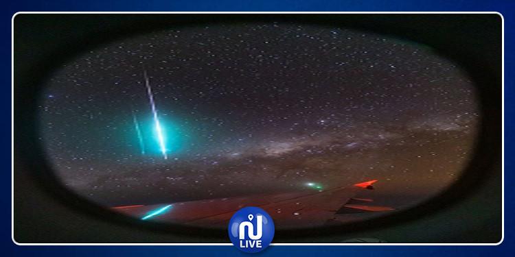 رصد ''نيزك'' ناري أزرق (صورة)