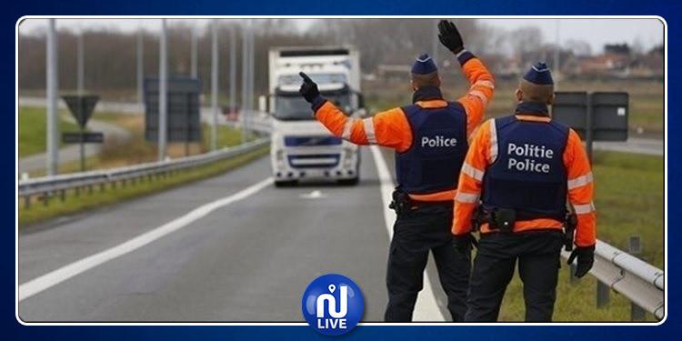 العثور على مهاجرين داخل شاحنة تبريد بلجيكية