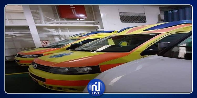 توزر: طبيب بسويسرا يتبرع بـ 3 سيارات إسعاف ومستلزمات طبية لمستشفيات الجهة(صور)