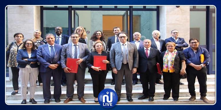 إمضاء اتفاقية تعاون وشراكة بين المعهد الوطني للتراث والمنتزه الأثري بروما