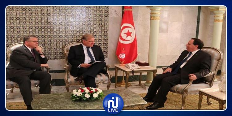 مستجدات الأوضاع في ليبيا محور لقاء الجهيناوي بسفيري الولايات المتحدة بطرابلس وبتونس