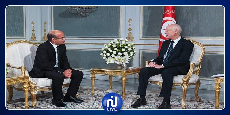 رئيس الجمهورية يستقبل رئيس المجلس الأعلى للقضاء