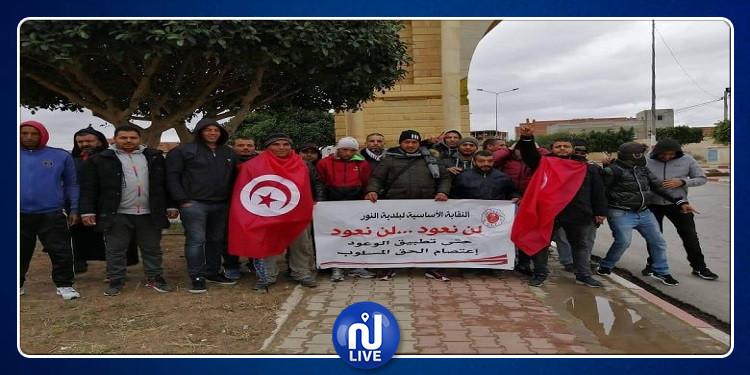 القصرين: مسيرة لمجموعة من الشبان نحو قصر قرطاج سيرا على الأقدام
