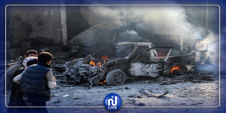 الحدود التركية السورية: 17 قتيلا بإنفجار سيارة ''مفخخة''