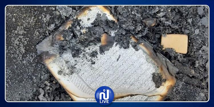 إيران: مثيرو  شغب أحرقوا القرآن الكريم (صور)