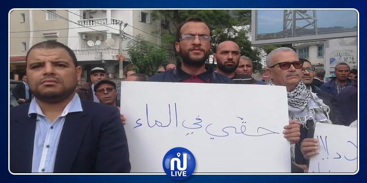 جندوبة: وقفة احتجاجية أمام '' الصوناد ''  تنديدا ورفضا لسياستها تجاه الجهة