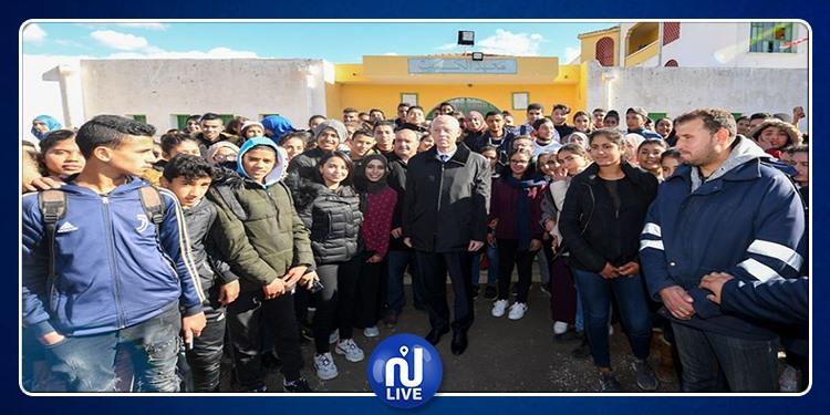 Kaïs Saïed poursuit ses visites dans le nord-ouest du pays