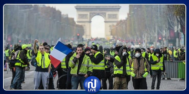 فرنسا: تظاهرات ''السترات الصفراء'' تعود من جديد والأمن يتدخل