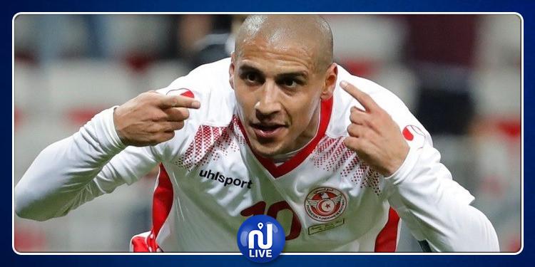Équipe de Tunisie : Wahbi Khazri se rapproche de Dos Santos au classement des meilleurs buteurs