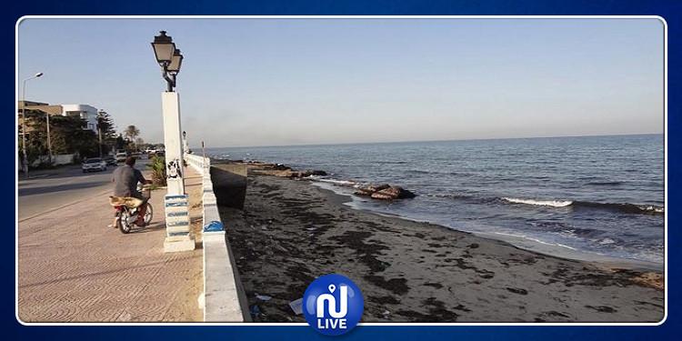 إجراءات لتسريع إنطلاق أشغال إصلاح أضرار رصيف شاطئ الكورنيش ببنزرت