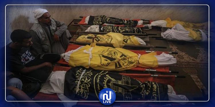 مقتل 9 أفراد من عائلة فلسطينية جراء القصف ''الاسرائيلي''