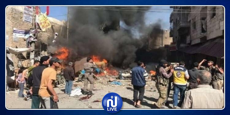سوريا: مقتل 8 مدنيين بانفجار سيارة مفخخة