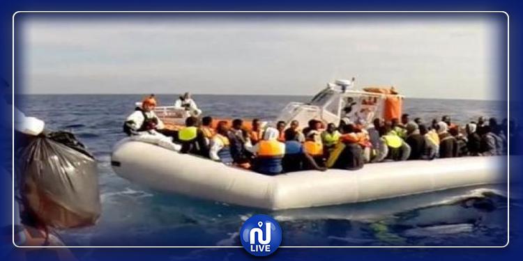 خفر السواحل الفرنسي ينفذ 31 مهاجرا من الغرق
