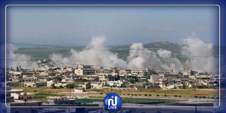 مقتل 6 جنود سوريين وإصابة 13 آخرين بتفجير إنتحاري بريف إدلب