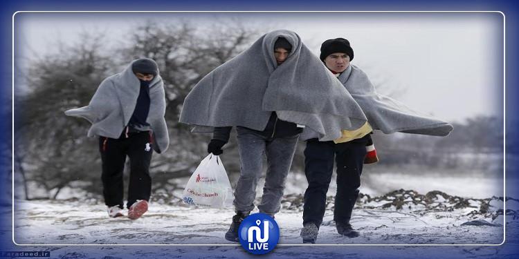 بين الحدود اليونانية التركية: وفاة 6 مهاجرين جراء البرد