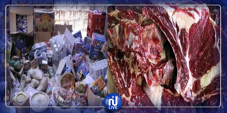 القيروان: حجز طن من المواد الغذائية الفاسدة بنهاية 2019
