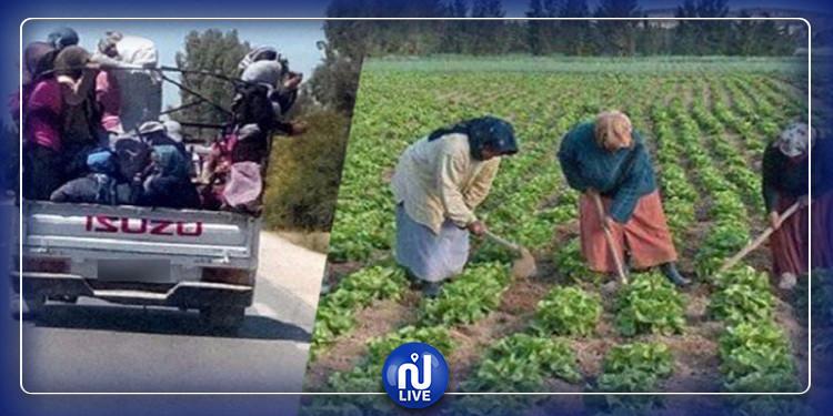 وزارة المرأة تدين تواصل نقل العاملات الفلاحيات في ظروف غير إنسانية