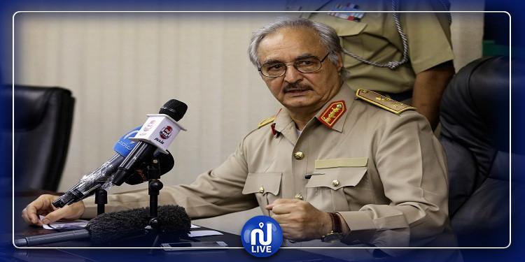 لقاء مرتقب بين  حفتر وكبار قادة الجيش المصري