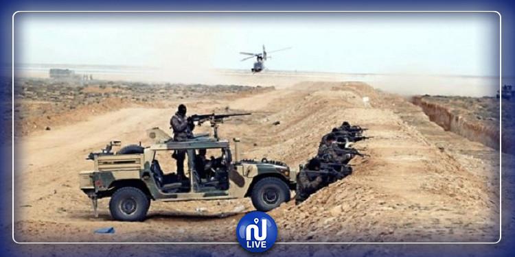 بن قردان: ضبط 3 أشخاص بصدد إجتياز الحدود البرية الليبية التونسية خلسة