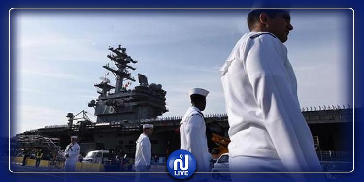 اطلاق نار داخل القاعدة العسكرية البحرية الأمريكية