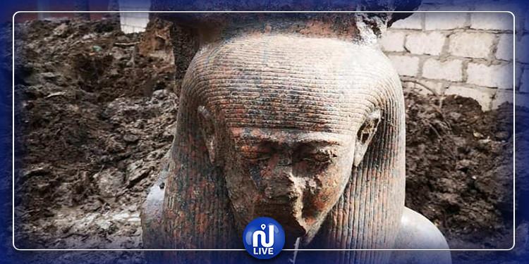 مصر: العثور على أول تمثال لرمسيس الثاني (صور)