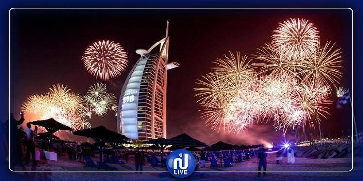 الإمارات تستعد لدخول ''غينيس'' بعروض الألعاب النارية