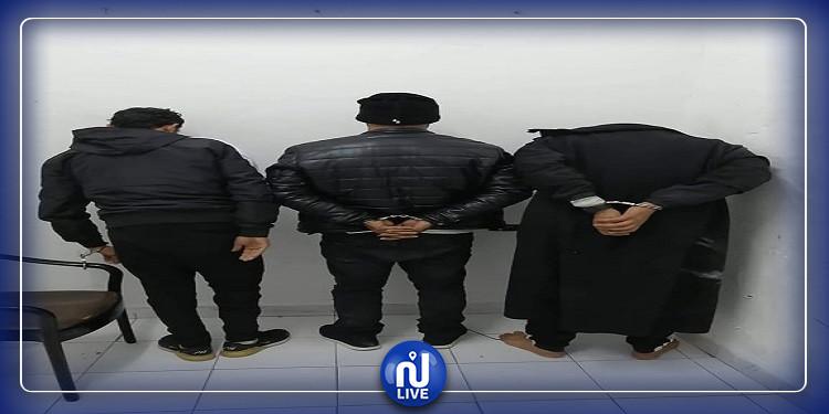 الحمامات: القبض على 3 شبان بحوزتهم كمية من ''الزطلة'' (صور)