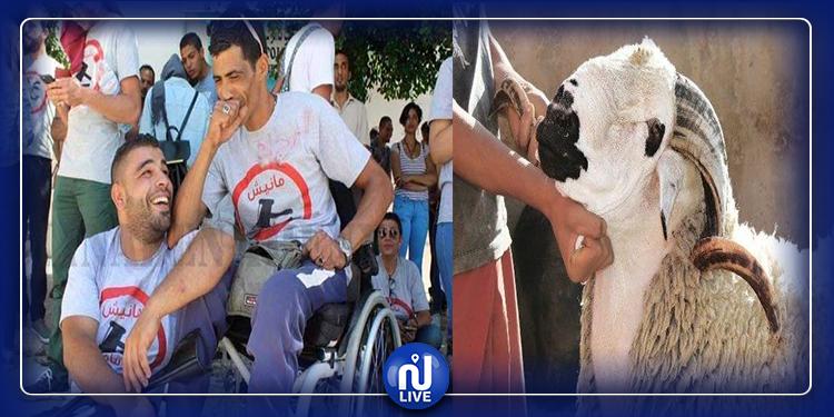 سرقة خروف كان سيذبح في موكب عزاء جريح الثورة طارق الدزيري