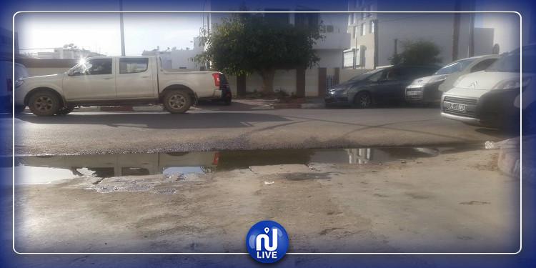 قابس: تسرب مياه التطهير إلى الأحياء يثير غضب المواطنين