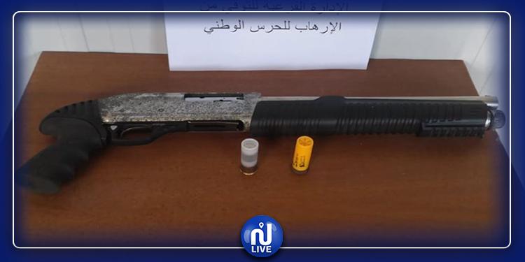 بنقردان: العثور على سلاح وخراطيش خلال مداهمة أمنية