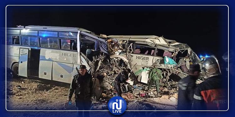 أغلبهم شبان: صور ضحايا حادث اصطدام حافلتين بالجزائر