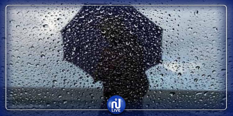 تواصل نزول الأمطار بالساحل ومناطق الجنوب الشرقي