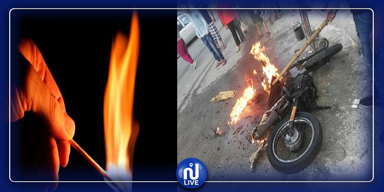 حي الخضراء: يزور محل تمريض لرتق جرحه فيتم الاعتداء عليه وحرقه !