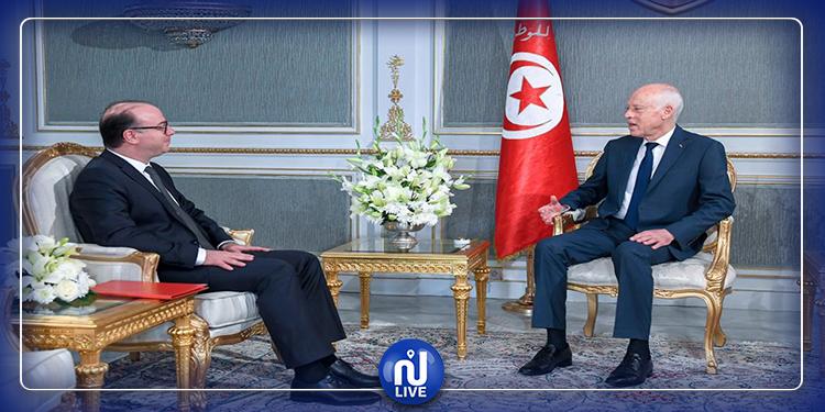 Le président de la République reçoit Elyes Fakhfakh