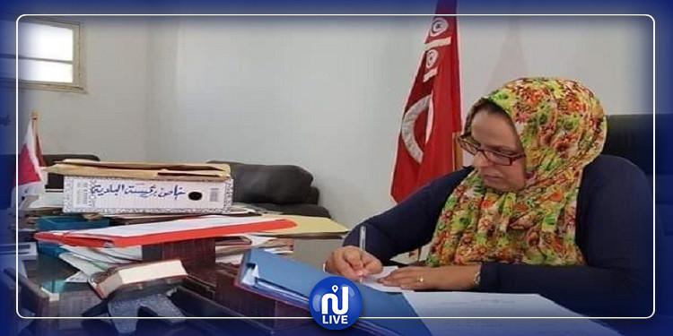 استقالة رئيسة بلدية المتلوي من منصبها