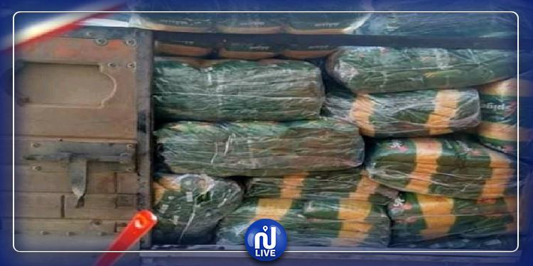 حجز 5 أطنان من المواد المدعمة بقابس في اتجاه الحدود الجنوبية
