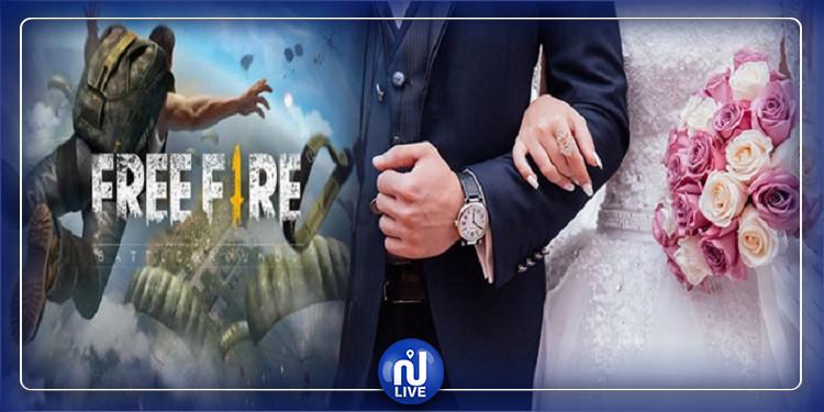 القيروان : قصة حبّ تنشأ اثناء لعبة ''الفري فاير'' وتتوّج  بالزواج