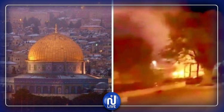 اثر حرق الصهاينة لمسجد بالقدس.. مصر تحذر وتدين بشدة