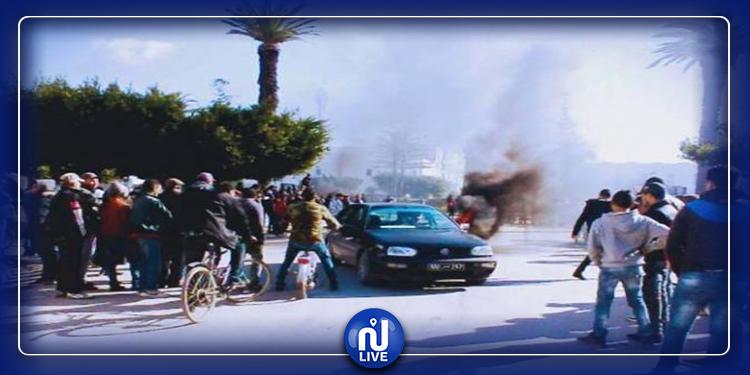 القصرين:  تدخل الأمن لتفريق تلاميذ إثر وفاة زميلهم بصعقة كهربائية