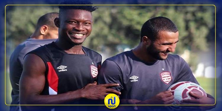Officiel : le Club Africain se débarrasse de Derrick Sasraku