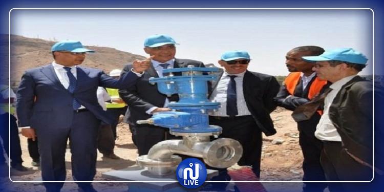 برمجة مشاريع لدعم شبكة الماء الصالح للشرب بالهوارية