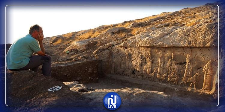 العراق: منحوتات أثرية مذهلة  أخفاها العلماء عن داعش (صور)