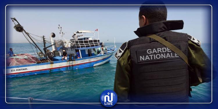 ضبط تونسيين وآفارقة بصدد الاعداد لهجرة سرية