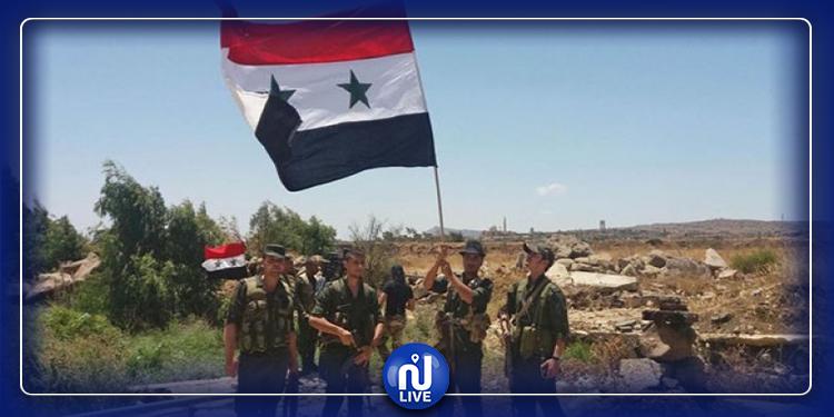 الجيش السوري يعلن السيطرة على هذه المناطق